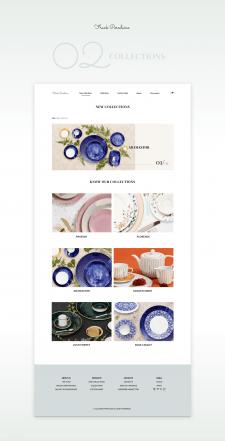 Сайт для продажи посуды