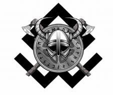 Шлем и щит