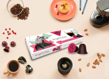 Got Shot Angel's Kiss Coffee Capsules Box Design