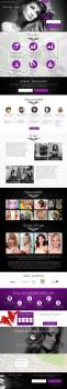 Сайт визитка. Салон красоты Lucky-Style