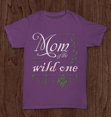 Принт футболки для мамочек
