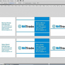 Лого + визитки