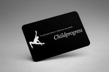 Создание логотипа Childprogress
