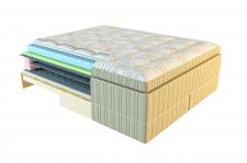 3Д моделирование матрасов