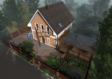 Частный дом с. Сеньковка, Киевская обл.(экстерьер)