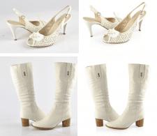 Обрезка фона. Женская обувь