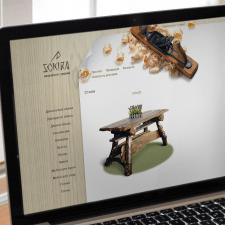 Дизайн сайту для виробника меблів