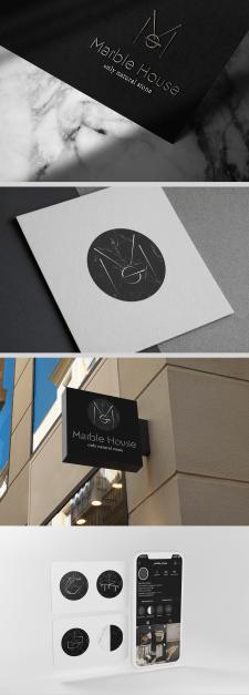 Фірмовий стиль для бренду 'Marble House'