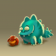 Dragon and Squirrel