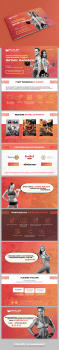 Маркетинг кит для мероприятия Фитнес марафон