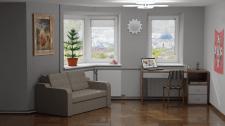 Візуалізація інтер'єру квартири
