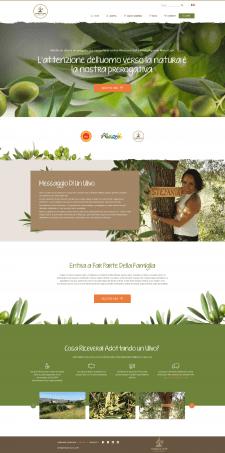 Marco Lupi Website design