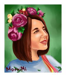Портрет девушки(2)