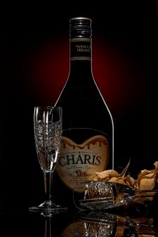 Съёмка коньячной бутылки