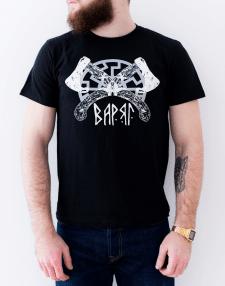 Мой рисунок на футболке бренда Stay Brave