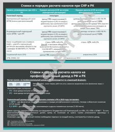 Анализ налоговой системы Казахстана
