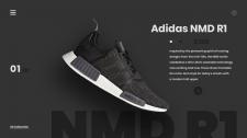 Сайт для продажи кроссовок