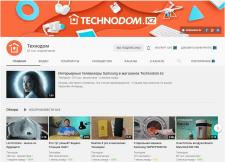 """YouTube-канал """"Технодом"""""""