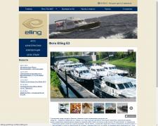Сайт яхтенной компании