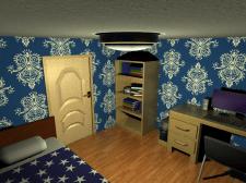 Мой первый дизайн комнаты.