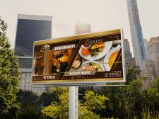Билборд для отеля и ресторана