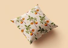Цветочный паттерн для текстиля