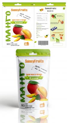 """Дизайн упаковки для """"Сушеного манго"""""""