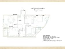 Перепланировка квартиры ЖК SOHO Residence 2