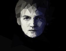 полигональный портрет (Джофри)