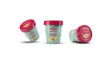 Дизайн упаковки для замороженного йогурта