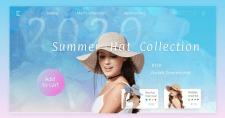 Summer hat collections