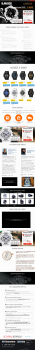"Landing Page ""Casio G-Shock"""
