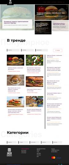 Jack Burgers, статьи для блога доставки бургеров