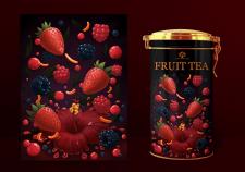 Ілюстрація для упаковки чаю