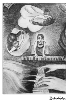 Иллюстрация, карандаш