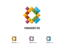 Логотип для «108маркет (версия 2.0)»