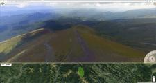 3D Панорама над Говерлой