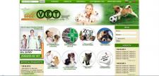 Дизайн и Вестка сайта Ветеренарного портала