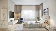 Визуализация спальни. Израиль