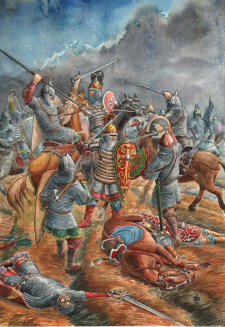 Бой на Нежатиной Ниве 3 октября 1078 г.