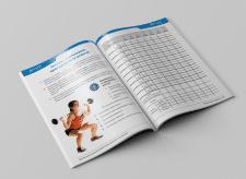 Разработка дизайна и верстка спортивного дневника