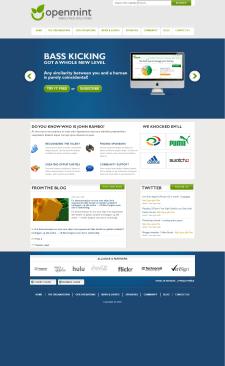 opentmint - сайт на WordPress