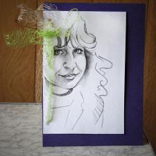 Открытка-портрет