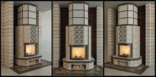 моделинг ивизуализция камина