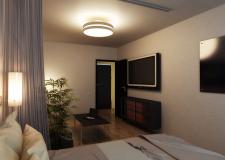Визуализация и дизайн однокомнатной квартиры