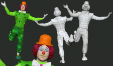 лоупольная модель, клоун