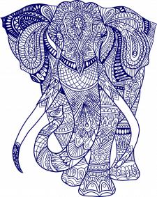 Слон-мандала