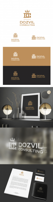 """Логотип """"Dozvil Consulting"""""""