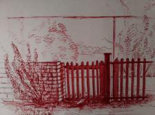 Фрагмент зарисовка