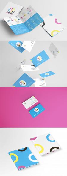 Визитки и буклеты для POLIPRINT